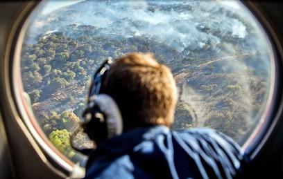Пожары охватили более 60 тысяч гектар леса в Сибири