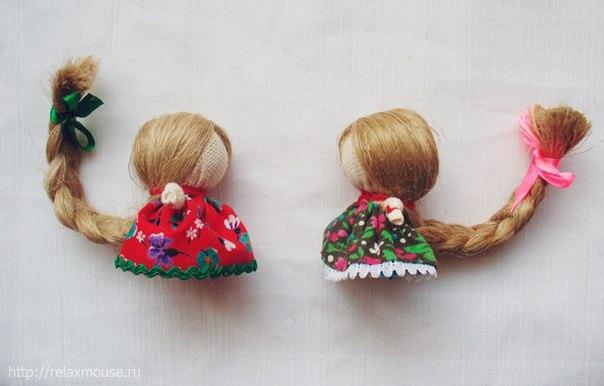 Кукла счастья оберег