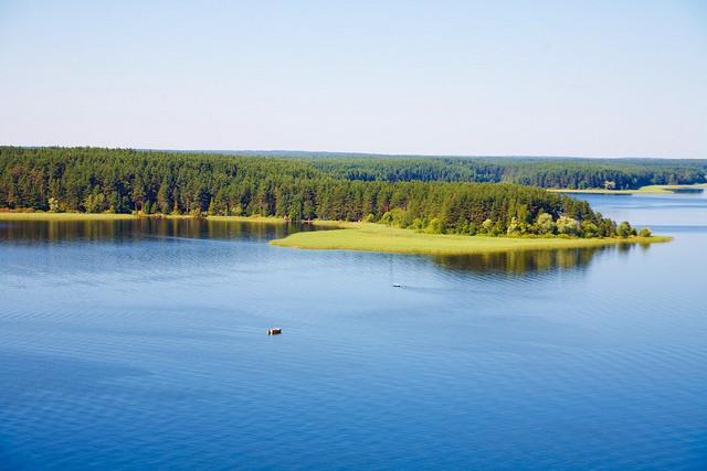 Озеро Селигер озеро, россия, селигер