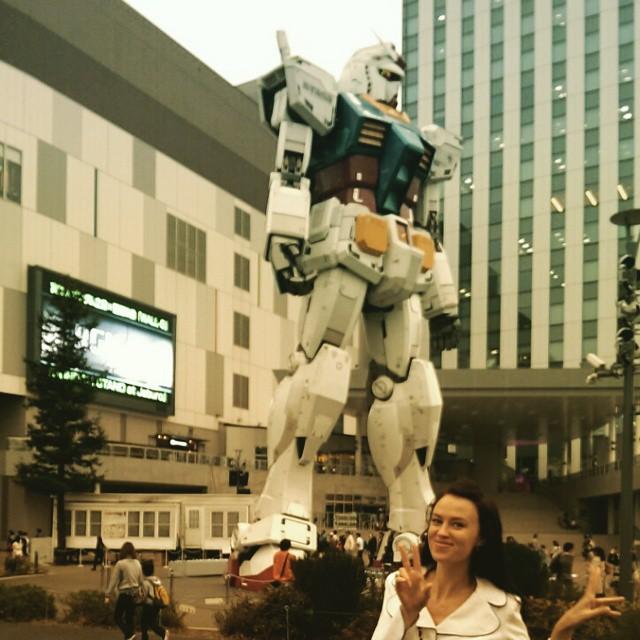 Куда же без роботов в мире, люди, прикол, япония
