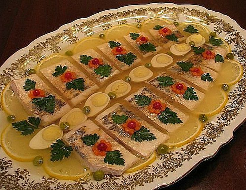 Заливное рыбное рецепт пошагово