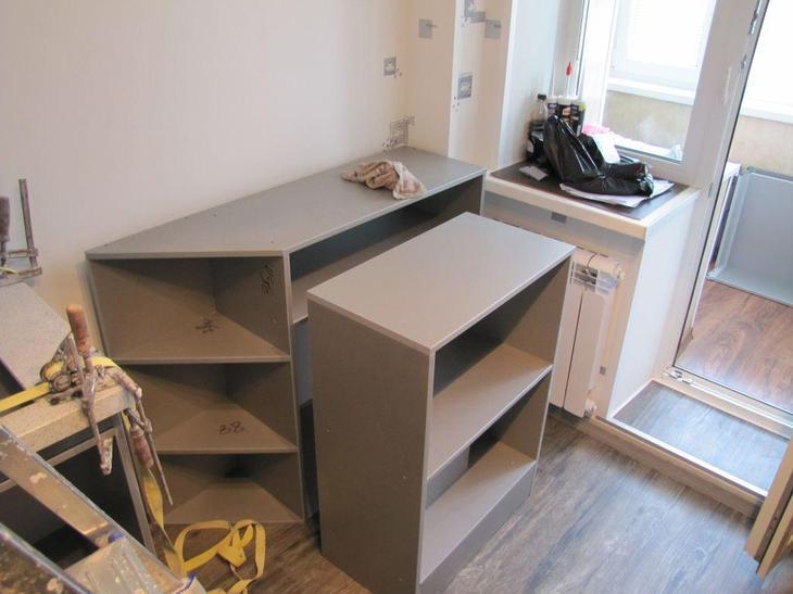 Ремонт кухни, установка кухонного гарнитура