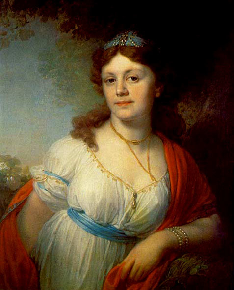 Рыжая дочь Екатерины Великой