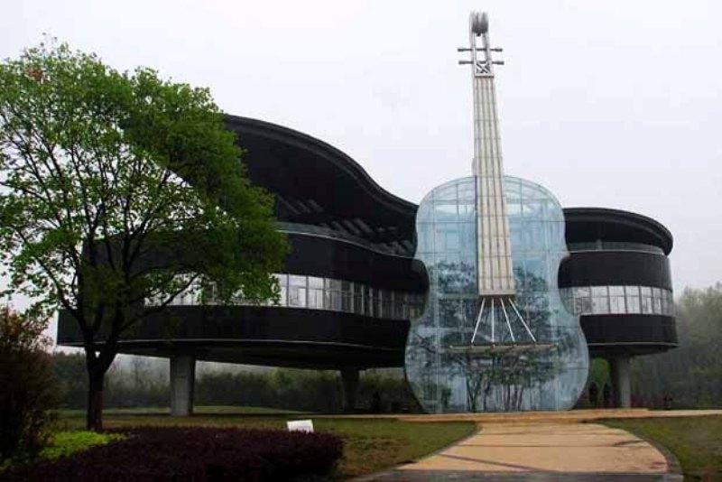 6. Музыкальный дом, провинция Аньхой, Китай дом, идея, проект