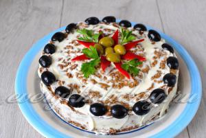 украсить пирог по желанию