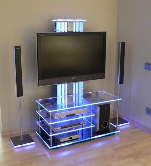 Телевизор за стеклом своими руками