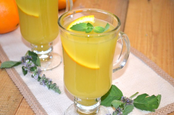 Мятно-апельсиновый напиток