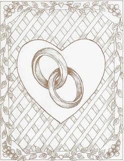 Шаблоны для свадебной тематики.