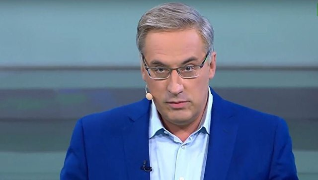 Ведущий НТВ обматерил и выгнал из студии украинского эксперта