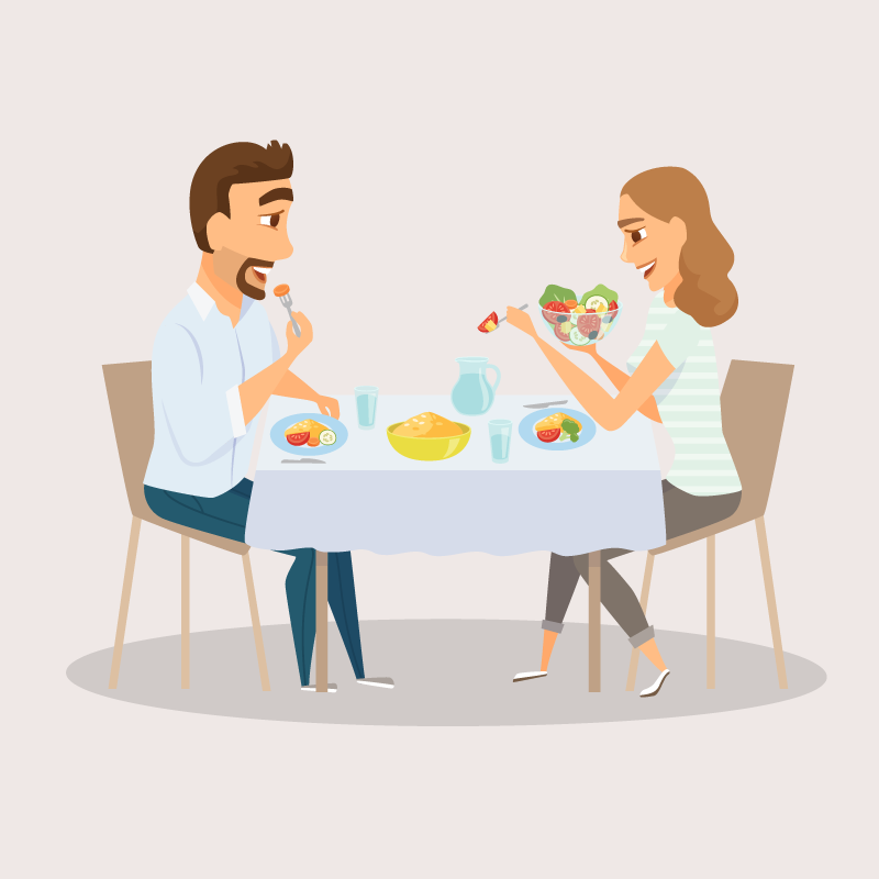 Анекдот про супругов, вотношениях у которых было полное взаимопонимание