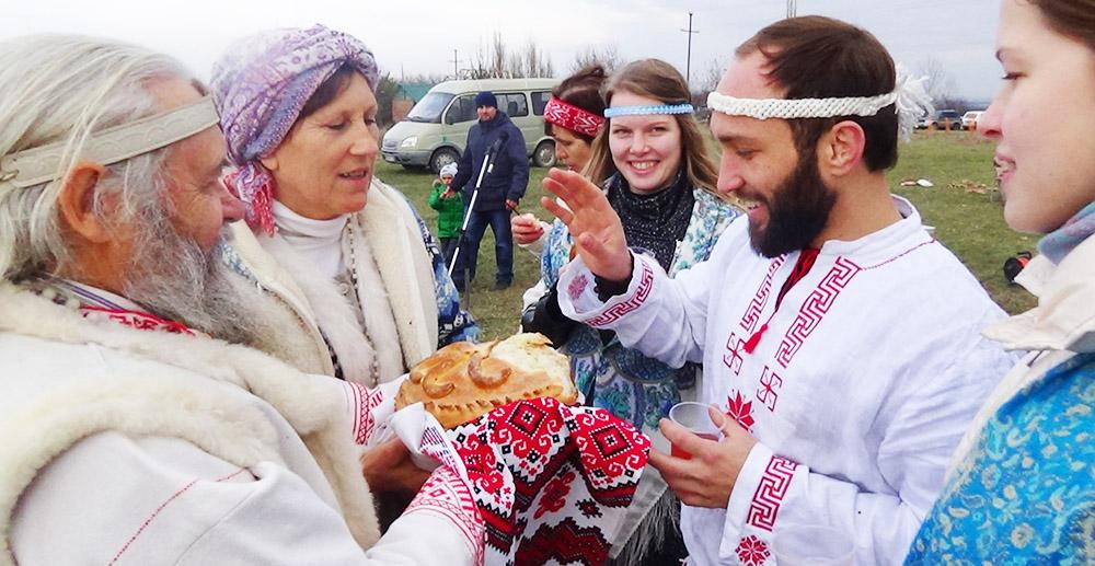 Как встречали Рождество Коляды на Кубани