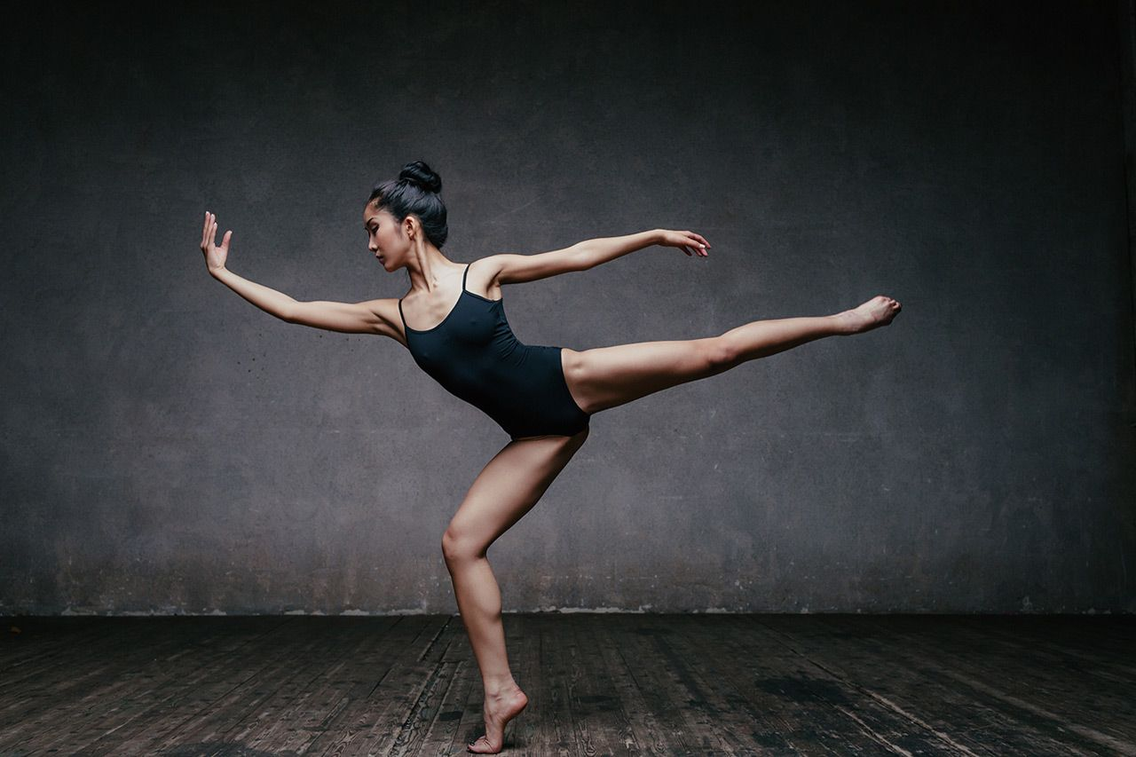 Фото позиций балерин 9 фотография