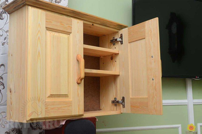 Самодельные деревянные шкафы
