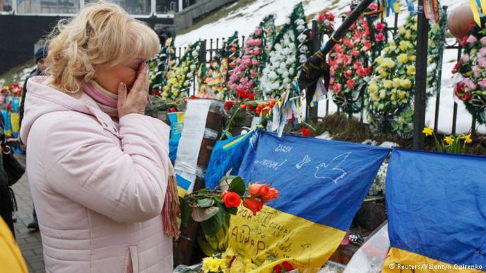 Аллея героев Небесной сотни в Киеве (фото из архива)