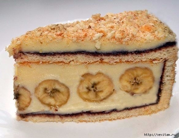 Рецепт тфото торта бананового