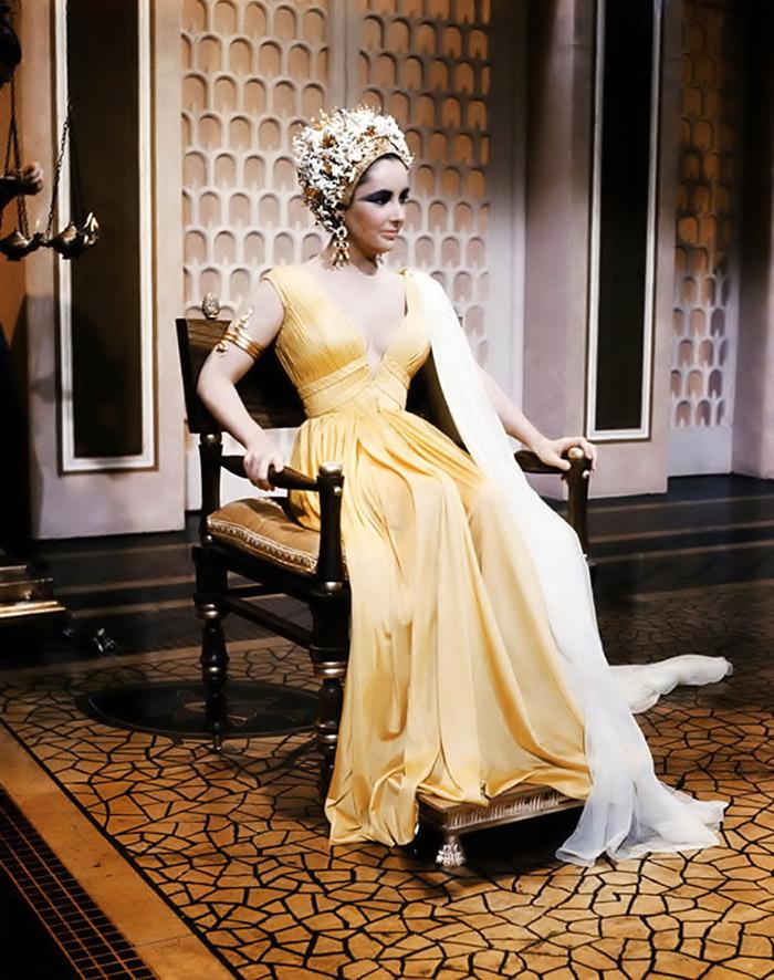 Элизабет Тейлор (Elizabeth Taylor) на съемках фильма «Клеопатра» (Cleopatra) (1963), фото 6