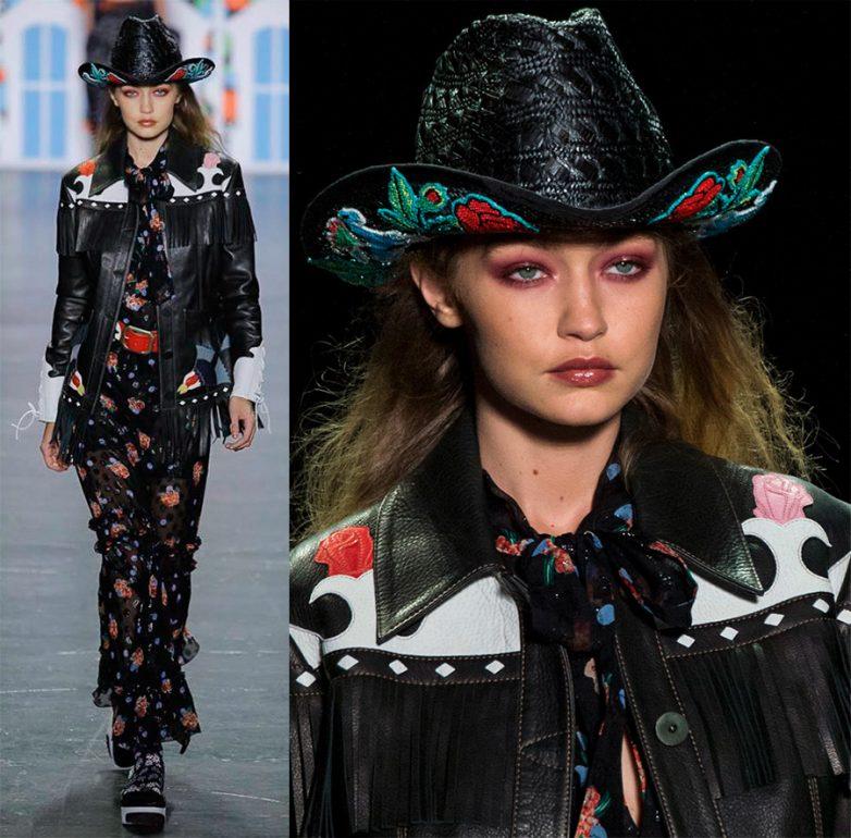 Модные женские шляпы 2017