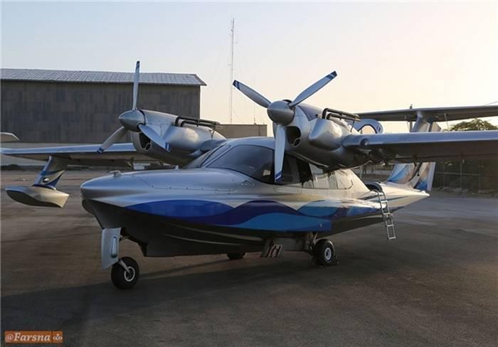 КСИР получил российские самолеты-амфибии ЛА-8