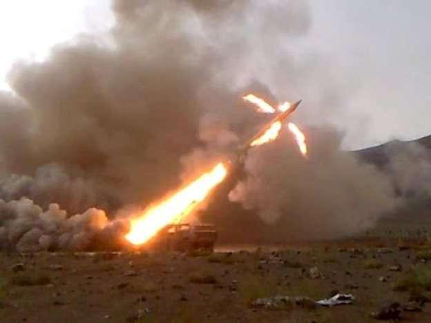 ВС Сирии начали применять по террористам ракеты комплекса «Луна-М»