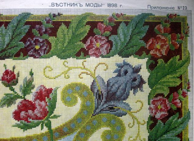 Тема «Старинные схемы вышивки»