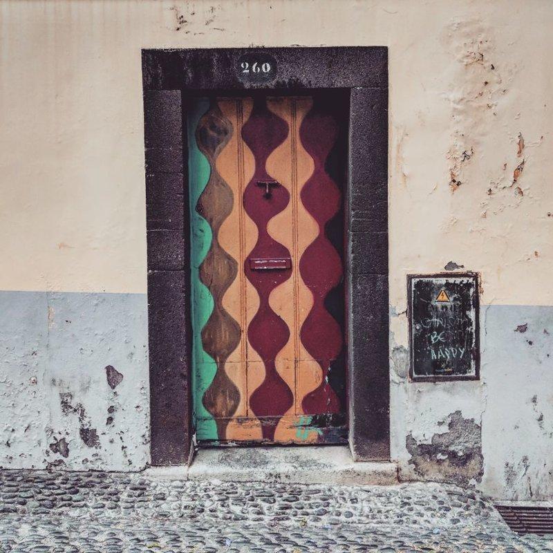18. дверь, картина, мадейра, португалия, путешествие, фотография, фотомир