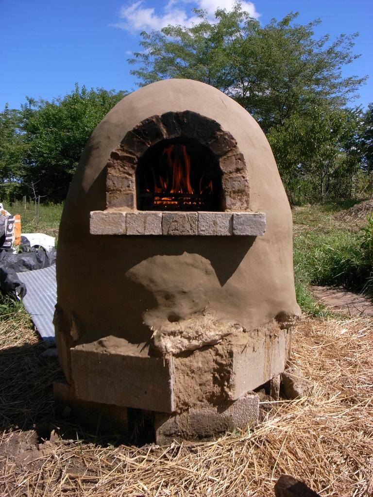 Как построить печь для дачи