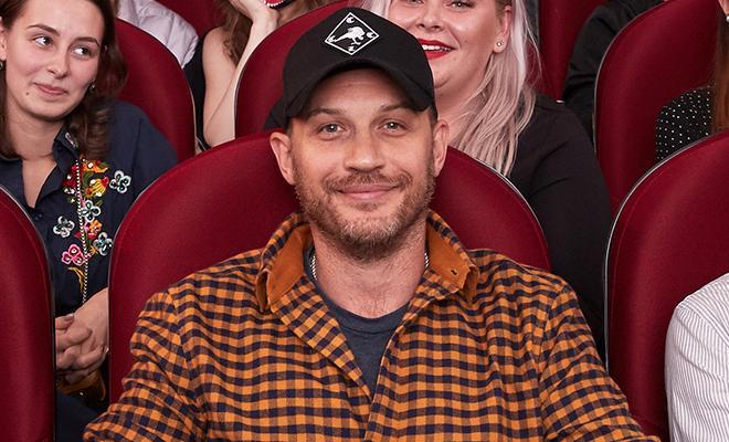 Том Харди осчастливил поклонников в Москве