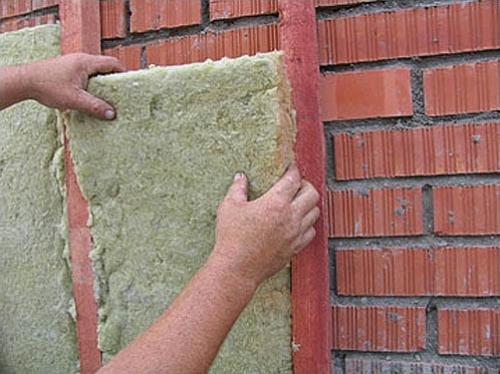Утепление кирпичных стен минватой снаружи и изнутри