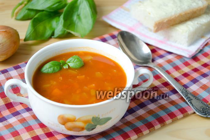 Простой томатный суп рецепты с фото