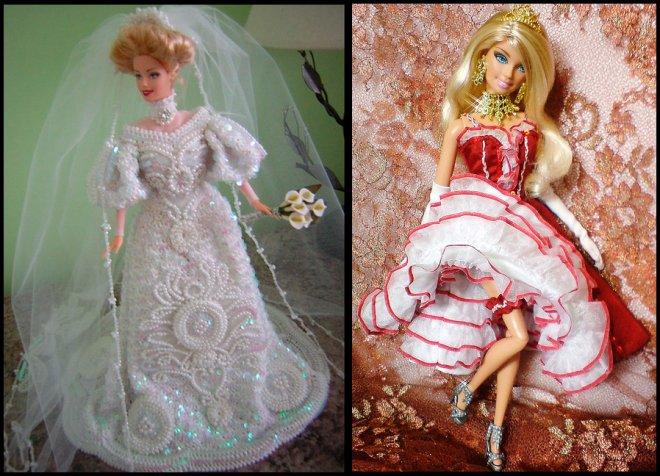 Шить платья для кукол своими руками без машинки 92