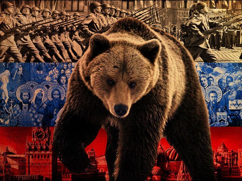 Русские медведи, гордые пшек…