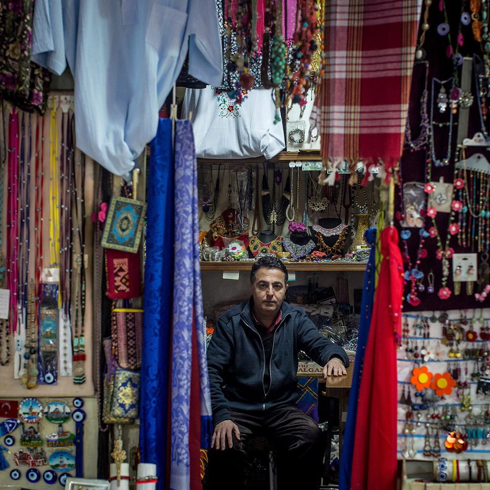 Традиционные турецкие ткани и украшения