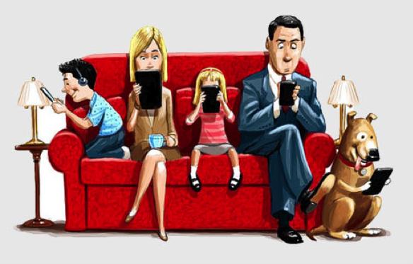 has technology ruined family life