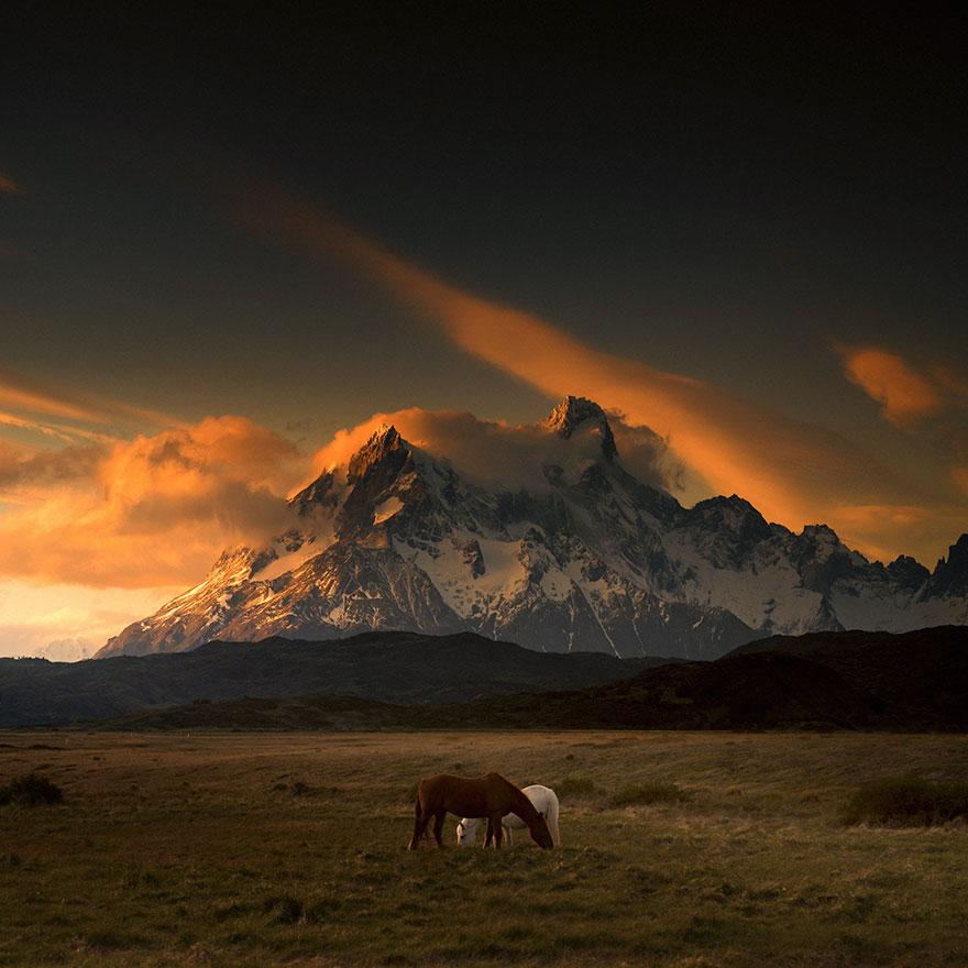 Патагония - место, полное волшебной, мистической красоты