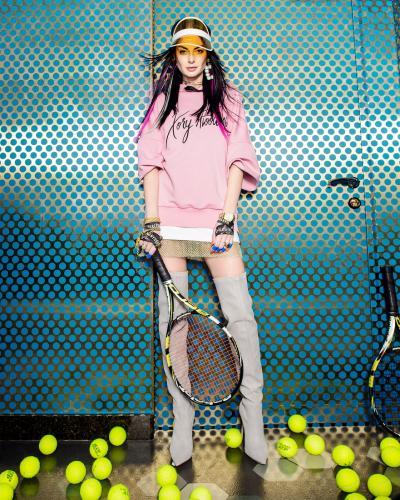 Нюша создала собственную линию одежды вместе с Léka