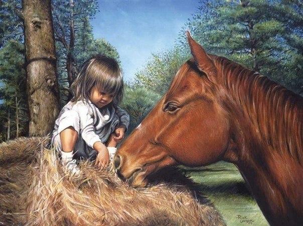 Лошади в живописи