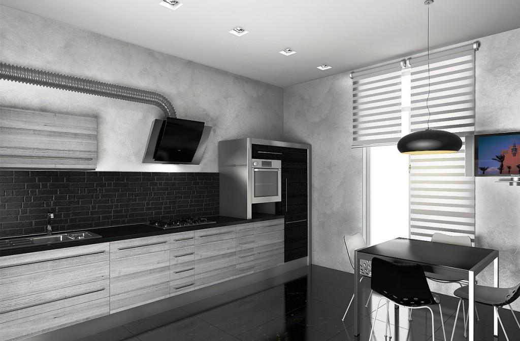 Как оформить кухню в стиле хай тек: варианты планировки, отделка и выбор аксессуаров