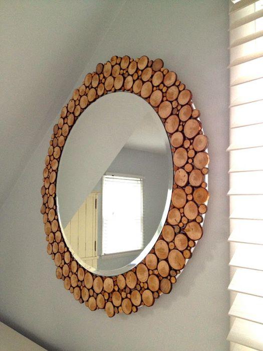 Декорируем зеркало своими руками фото