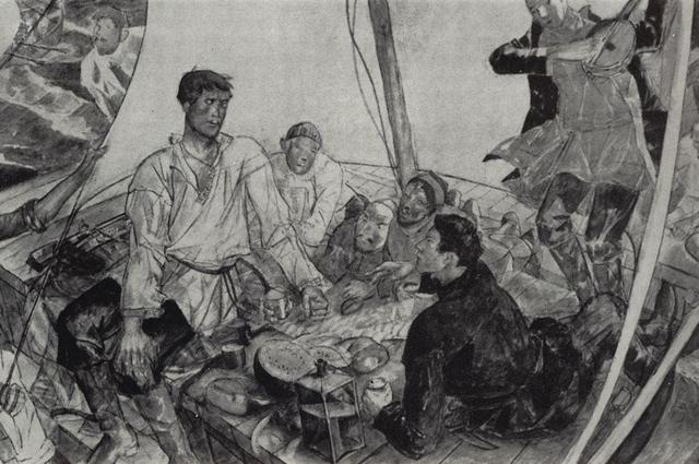 «Степан Разин». 1918 год. Художник Кузьма Сергеевич Петров-Водкин.