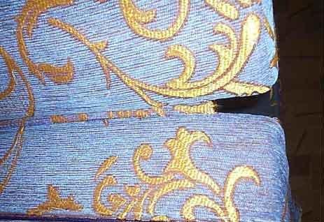 пример сшивания деталей изнанкой