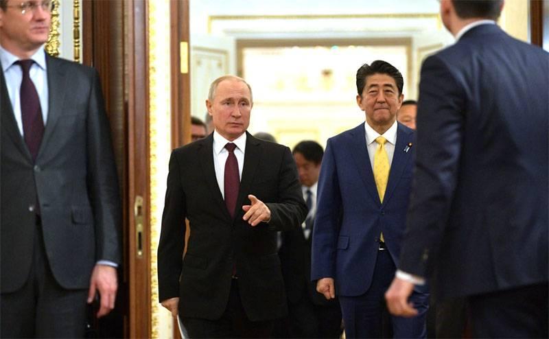 Песков рассказал о позициях России и Японии по мирному договору