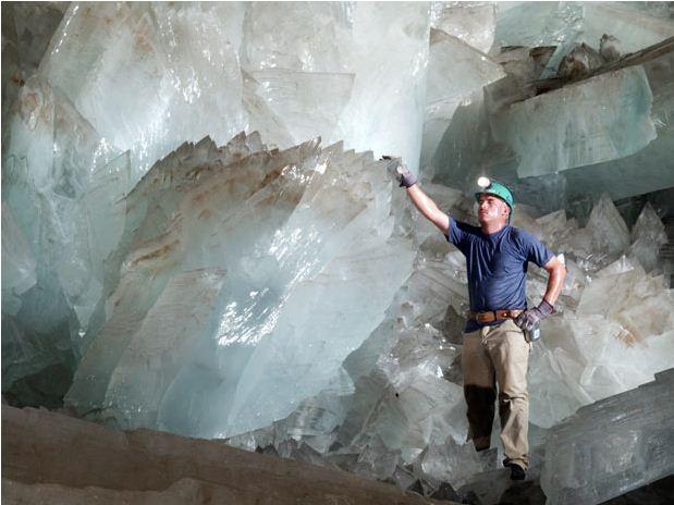 Удивительные пещеры в шахте …