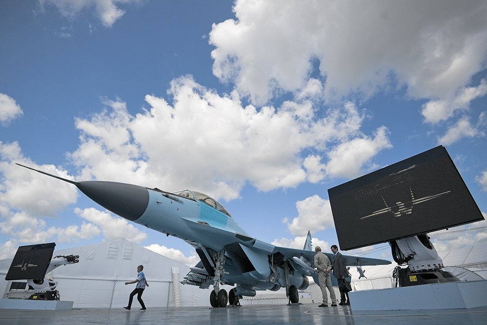Невероятный маневр: видео вертикального взлета МиГ-35 на форсаже появилось в Сети
