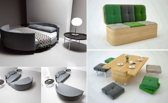 Чудеса трансформации: функциональная мебель для вашего интерьера