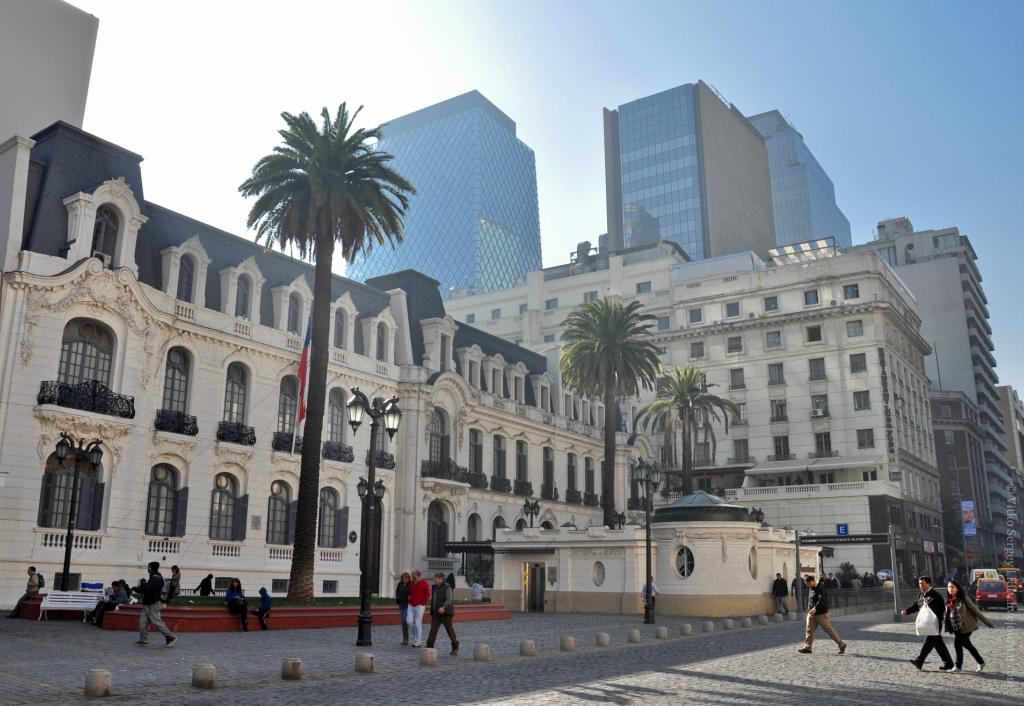 Сантьяго де Чили. Исторический центр города