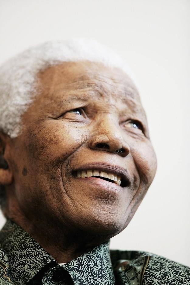 7. Нельсон Мандела знаменитость, усыновление