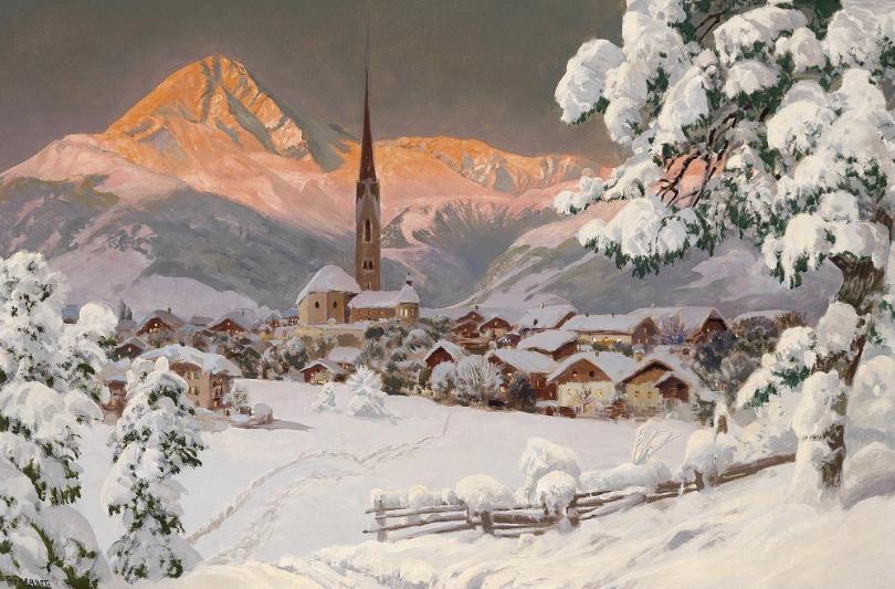 Австрийский художник Алоис Арнеггер (Alois Arnegger)