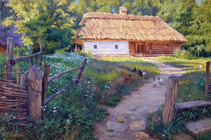 Красота природы в творчестве художника Геннадия Кириченко