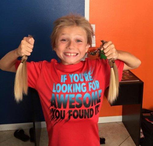 8-летний Кристиан МакФилами 2,5 года терпел издёвки окружающих, чтобы добиться своей цели (8 фото)
