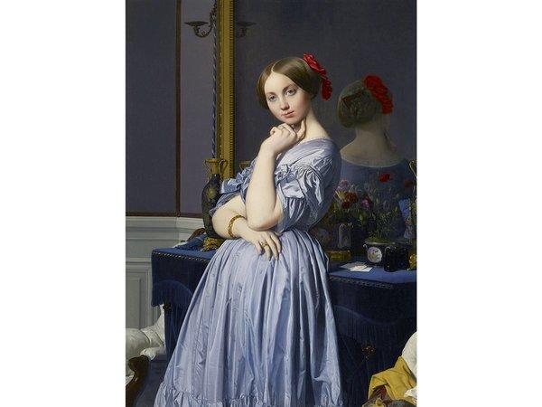 Подготовительный рисунок, 1842 год.